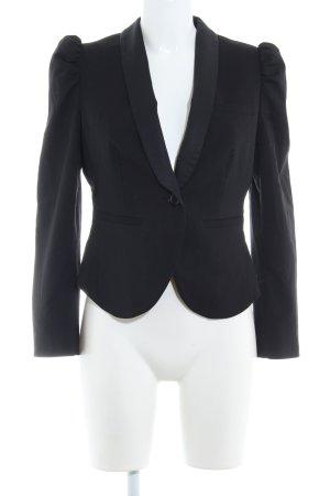 H&M Smoking-Blazer schwarz klassischer Stil