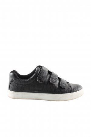 H&M Basket velcro noir style décontracté