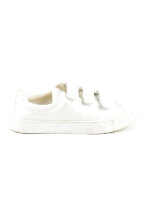 H&M Basket velcro blanc style décontracté