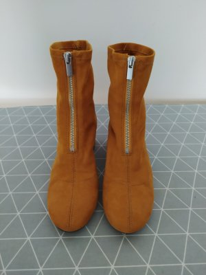 H&M - Sockboots, curryfarben, Gr. 36