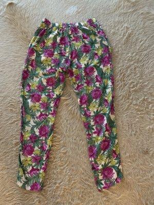 H&M Pantalon fuselé multicolore