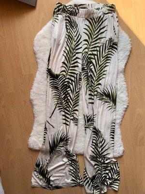 H&M Pantalón de campana multicolor