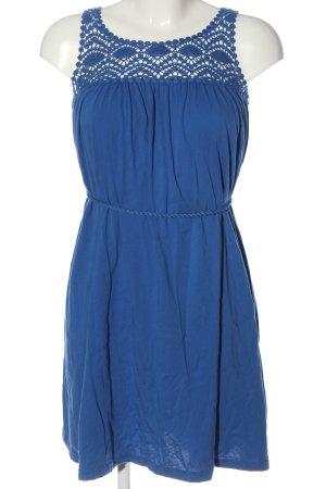 H&M Sommerkleid blau Casual-Look