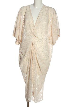 H&M Sommerkleid creme Elegant