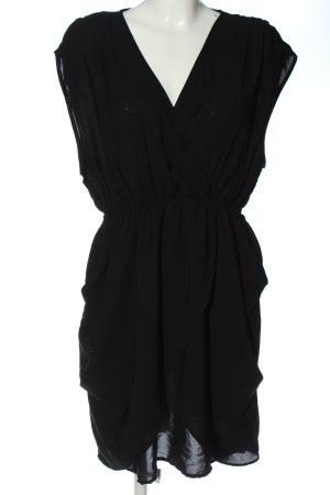 H&M Sommerkleid schwarz Elegant