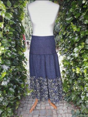 H&M Falda larga azul
