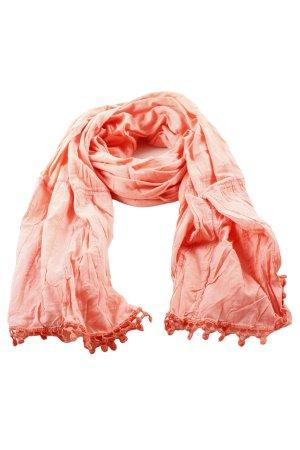 H&M Chal veraniego naranja claro look casual