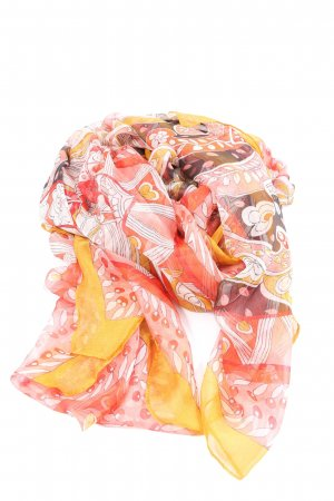 H&M Summer Scarf abstract pattern casual look
