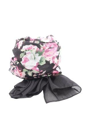 H&M Écharpe d'été motif de fleur style décontracté