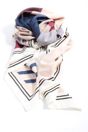 H&M Chal veraniego estampado con diseño abstracto look casual