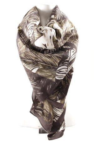 H&M Chal veraniego estampado temático look casual
