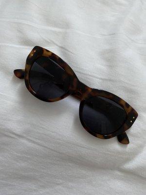 H&M Sonnenbrille Schildpatt braun schwarz cat eye