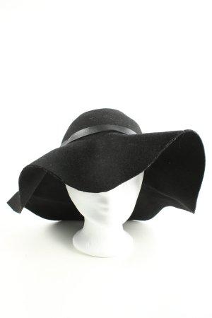 H&M Chapeau de soleil noir style décontracté