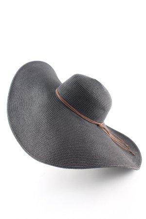H&M Chapeau de soleil noir-brun style décontracté