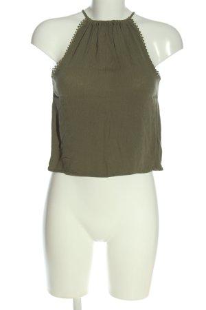 H&M Top de tirantes finos marrón look casual