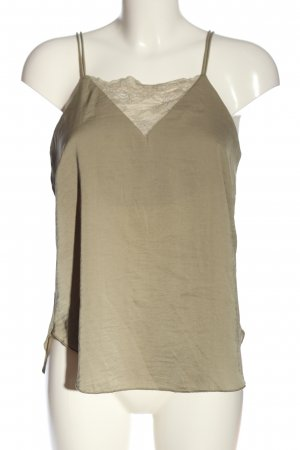 H&M Top con bretelline cachi stile casual