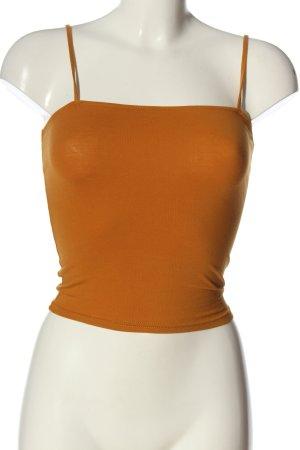 H&M Spaghettibandtopje licht Oranje elegant