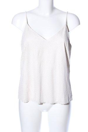 H&M Top con bretelline bianco stile casual