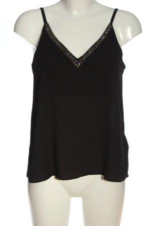 H&M Top con bretelline nero stile casual