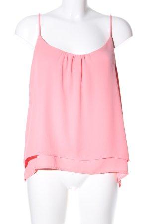 H&M Top con bretelline rosa stile casual