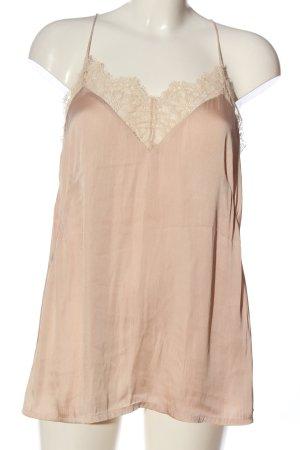 H&M Top z cienkimi ramiączkami w kolorze białej wełny W stylu casual