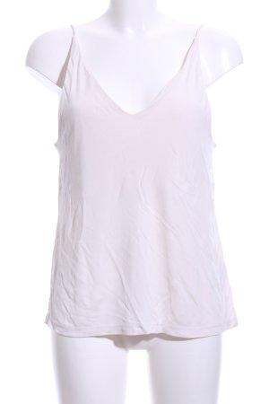 H&M Top con bretelline bianco sporco stile casual