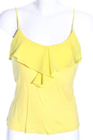 H&M Top de tirantes finos amarillo pálido look casual