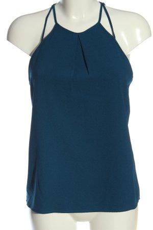 H&M Top de tirantes finos azul look casual