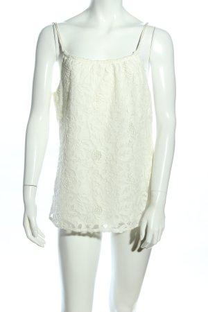 H&M Haut à fines bretelles blanc élégant