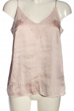 H&M Spaghettiträger Top pink Casual-Look