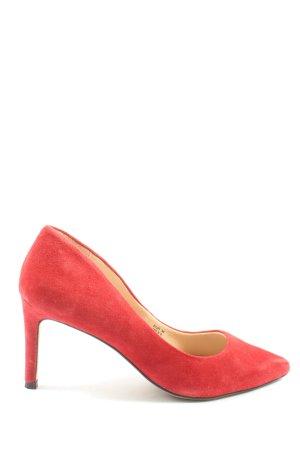 H&M Pointed Toe Pumps red elegant