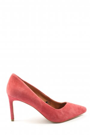 H&M Spitz-Pumps rot Business-Look