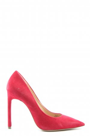 H&M Spitz-Pumps rot Casual-Look