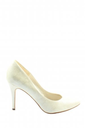 H&M Spitz-Pumps wollweiß Casual-Look