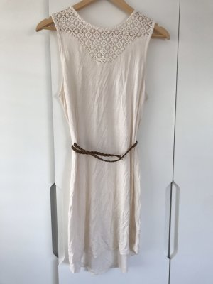 H&M Lace Dress cream-natural white
