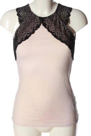 H&M Kanten blouse room-zwart casual uitstraling