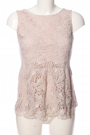 H&M Lace Blouse pink casual look