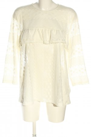H&M Spitzenbluse creme Casual-Look