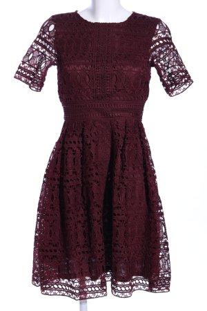 H&M Lace Dress red elegant