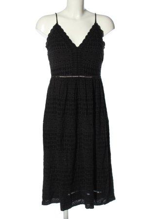 H&M Spitzenkleid schwarz Casual-Look