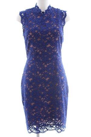 H&M Robe en dentelle bleu élégant