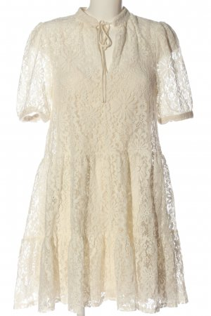 H&M Lace Dress cream casual look