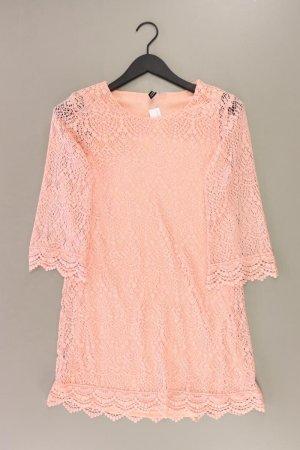 H&M Spitzenkleid Größe 36 Langarm rosa aus Polyester