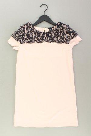H&M Spitzenkleid Größe XS Kurzarm rosa aus Polyester