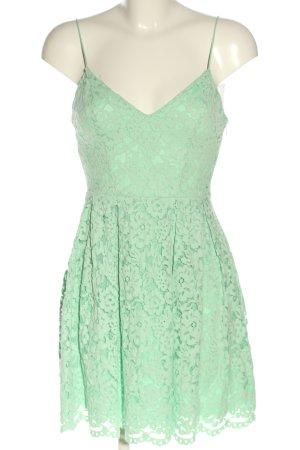 H&M Spitzenkleid grün Elegant