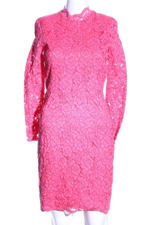 H&M Abito in pizzo rosa stampa integrale stile casual