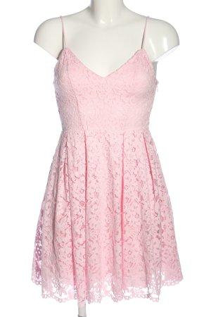 H&M Spitzenkleid pink Elegant