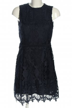 H&M Spitzenkleid blau Elegant