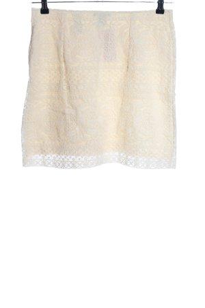 H&M Lace Skirt cream elegant