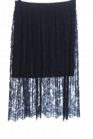H&M Lace Skirt blue casual look